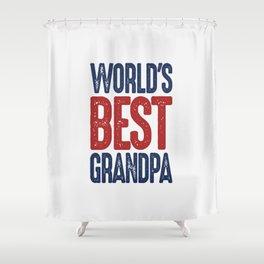 Gift for Grandpa Shower Curtain