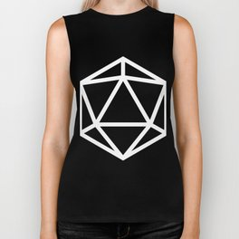 D20- White Magic Biker Tank