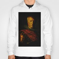 pablo picasso Hoodies featuring King Picasso by Ganech joe