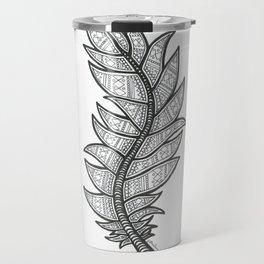 Tribal Feather Travel Mug