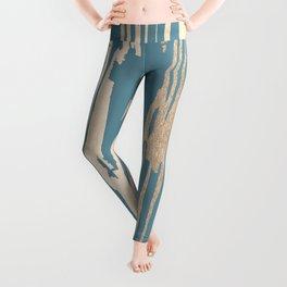 Bamboo Bronze Gold 2 Leggings