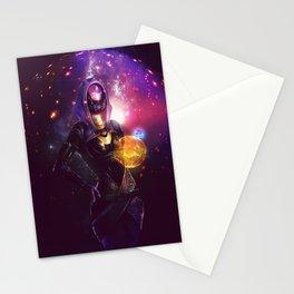Tali'Zorah vas Normandy (Mass Effect) Art Stationery Cards