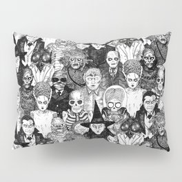 Horror Film Monsters Pillow Sham