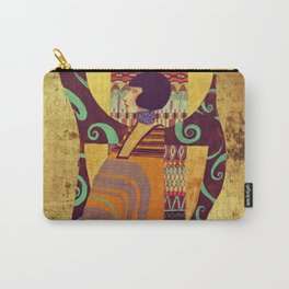 Dame Gold Carry-All Pouch