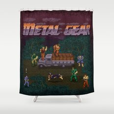 Gear Metal Shower Curtain