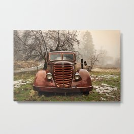 Abandoned Truck, Palomar Mountain Metal Print