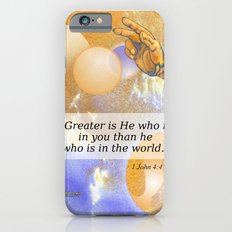 Greater Is He Slim Case iPhone 6s