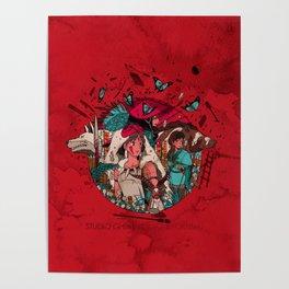 Wolf Princess Poster