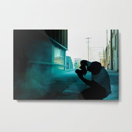 Pictures of People Taking Pictures Metal Print
