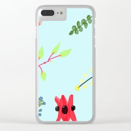 Australiana Garden Clear iPhone Case
