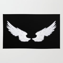 White Angel Wings Rug