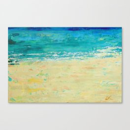 Get to the Beach! Canvas Print