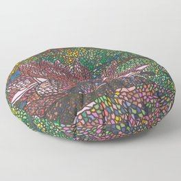 Water Lily Floor Pillow