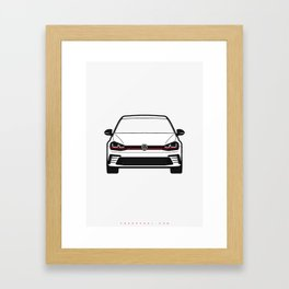 VW Golf GTI Framed Art Print