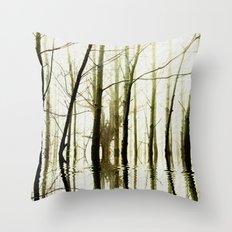 TREE TONES Throw Pillow
