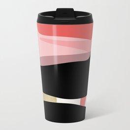 Modern minimal forms 1 Travel Mug