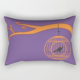 tweet at night Rectangular Pillow