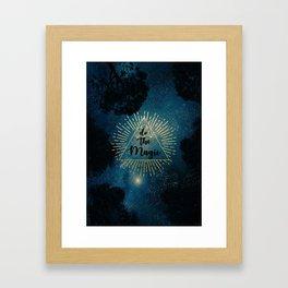 Do the Magic (Night Sky) Framed Art Print