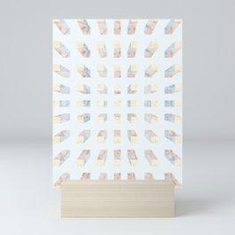 Depth perception - marble in Mini Art Print
