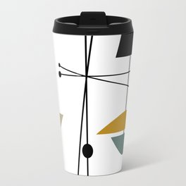 Mid Century Art 11 Travel Mug