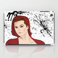 stiles iPad Cases featuring Demon!Stiles by Caincarrots