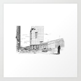 A building in St. Louis Art Print