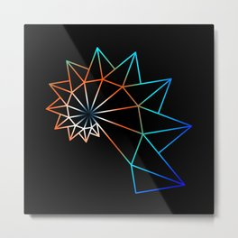 UNIVERSE 24 Metal Print