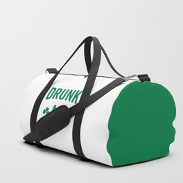 Drunk AF Funny Quote Duffle Bag