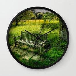 Summer Shade Wall Clock