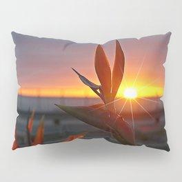 Bird of Paradise Sunburst by Aloha Kea Photography Pillow Sham