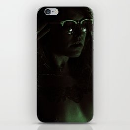 Suicide Witch in Critique II iPhone Skin
