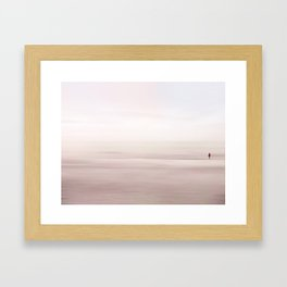 Do you hear it? Framed Art Print