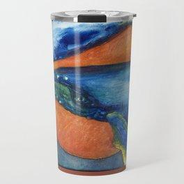 Humpbacks Orbiting Mars Travel Mug