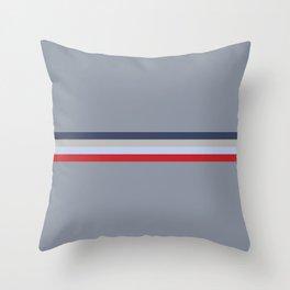 Trendy Classy Striped Drakaina Throw Pillow