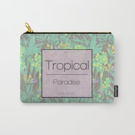 Tropical Paradise: Jade Jungle Carry-All Pouch
