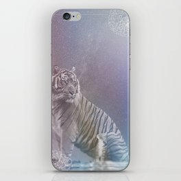 Kitten and Tiger iPhone Skin
