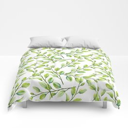 Branches and Leaves Comforters