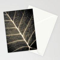 Leaf Patterns Stationery Cards