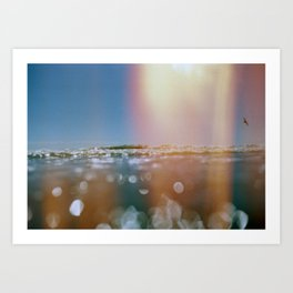 OceanSeries4 Art Print