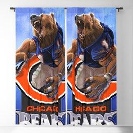 Chicago WereBear Blackout Curtain