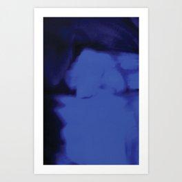 River of Blue Fire Art Print