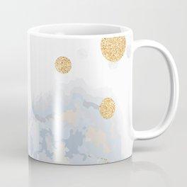 Blue & Gold Painting Coffee Mug