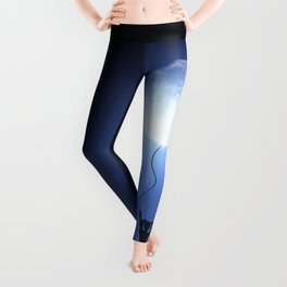 Fly With The Moon Leggings