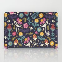 reading iPad Cases featuring Ditsy Flowers by Poppy & Red