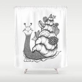 CACTUSNAIL Shower Curtain