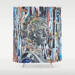 Galatic Shower Curtain