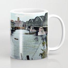 Rotterdam Oude Willemsbrug 1890 Coffee Mug