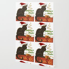 Joyeux Noel Le Chat Noir Christmas Parody Wallpaper