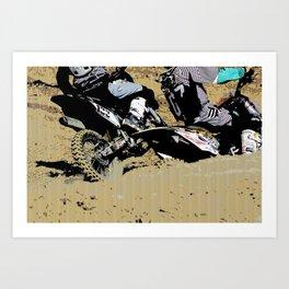 Inside Move - Motocross Racers Art Print