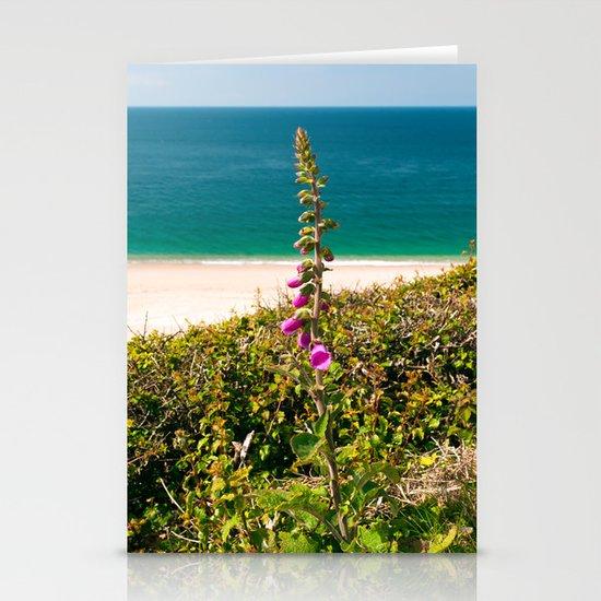Foxglove On The Beach Stationery Cards